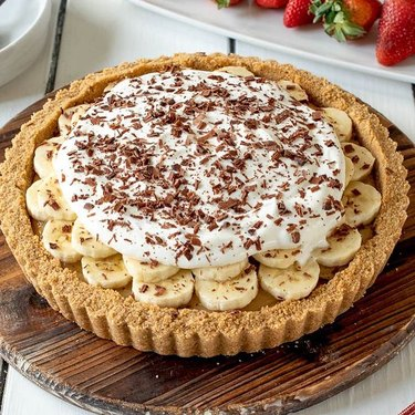 Culinary Ginger English Banoffee Pie