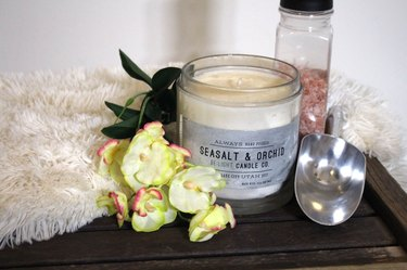 Be:Light Candle Company sea salt orchid candle
