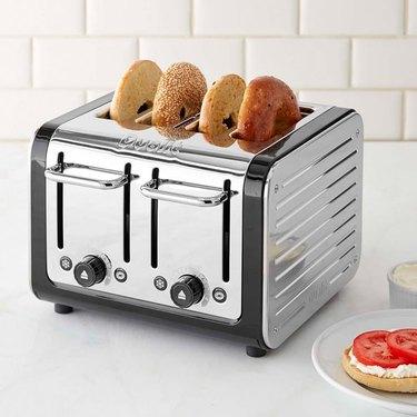 4-Slice Steel Toaster