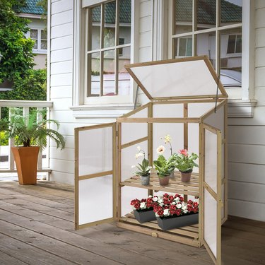 Costway Cold Frame Portable Greenhouse