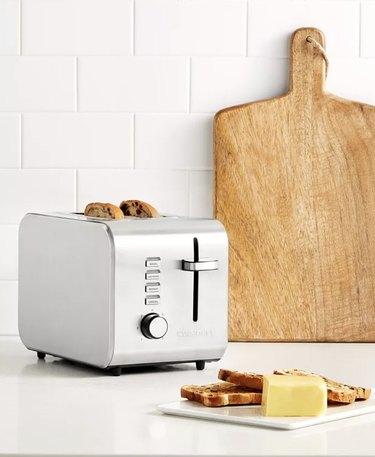 Metal 2-Slice Toaster