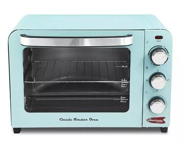 Retro 6-Slice Toaster Oven