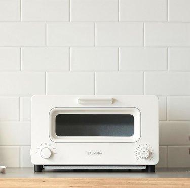 White Balmuda Toaster Oven