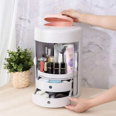 Purme 360-Degree Rotating Cosmetic Storage Box