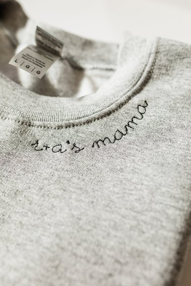 EmbroiWear Custom Embroidered Mama Sweatshirt