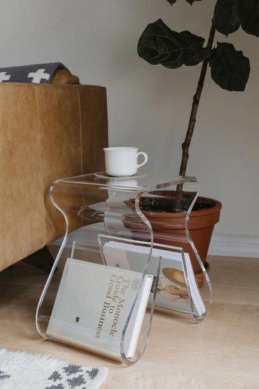 Umbra Magino Acrylic Side Table