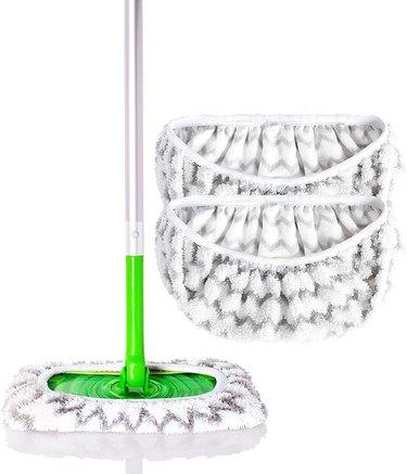 washable microfiber swiffer mop pads