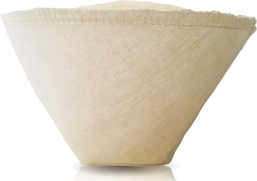 washable cone coffee filter