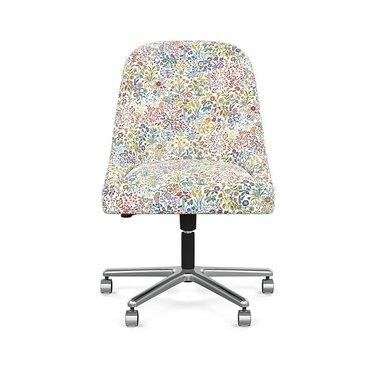 floral desk chair