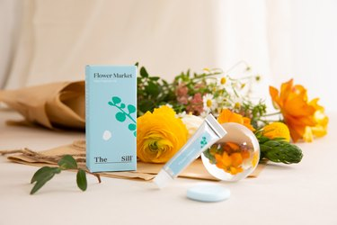 canopy x the sill home fragrance aroma kit with flowers