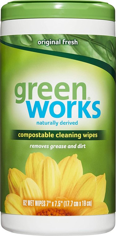 compostable plant based cleaning wipes