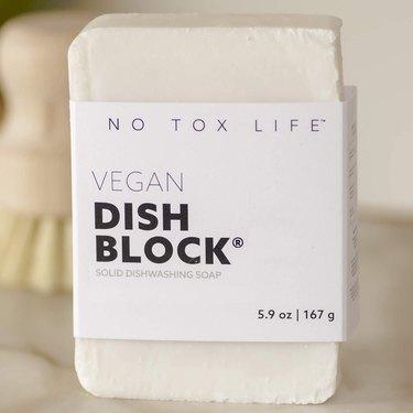 zero waste dish wash laundry soap bar