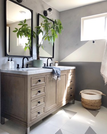 bathroom floor paint ideas