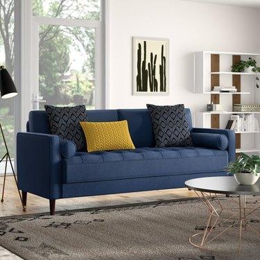 "Mercury Row Garren 75.6"" Square Arm Sofa"