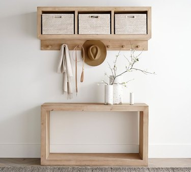Small Entryway Table with shelf
