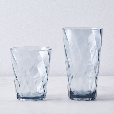Blue Pheasant Shatter-Proof Optic Melamine Glasses