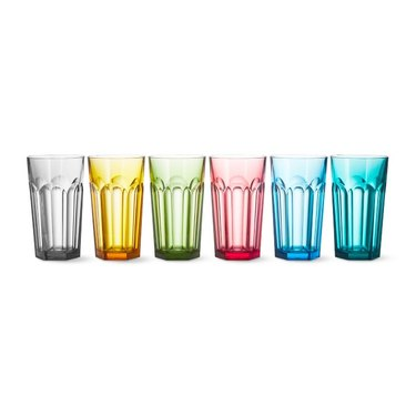 DuraClear Tritan Faceted Glasses
