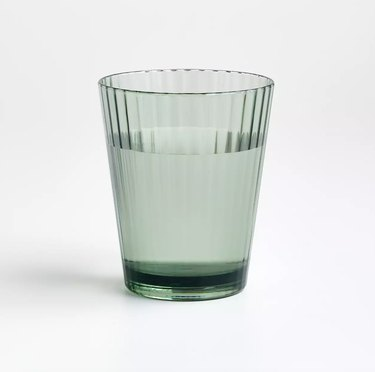 Crate & Barrel Emmeline Acrylic Double Old-Fashioned Glass