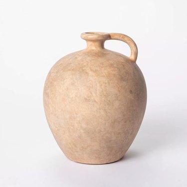weathered jug vase