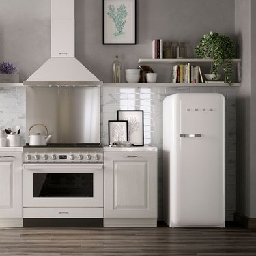 smeg full size fridge