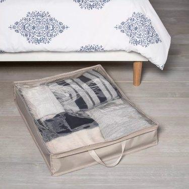 under bed storage ideas under-the-bed bag