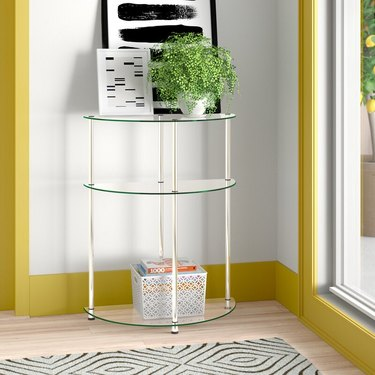 Small Entryway Table semi-circle