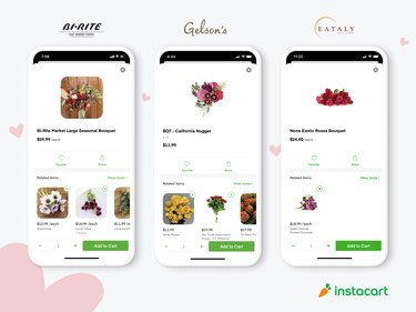 instacart mother's day flowers
