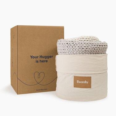 bearaby the hugger in packaging