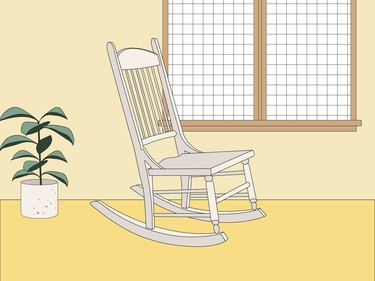 rocking chair illustration