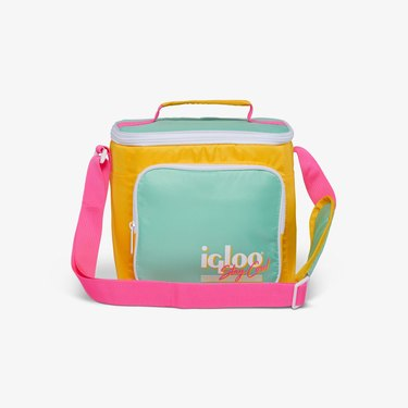 Retro Square Lunch Bag
