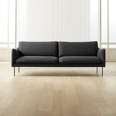 CB2 Mavis Grey Wool Sofa
