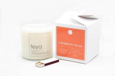 Feya Candles caribbean salsa candle