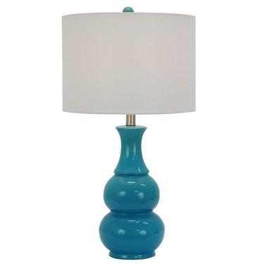 ceramic blue lamp