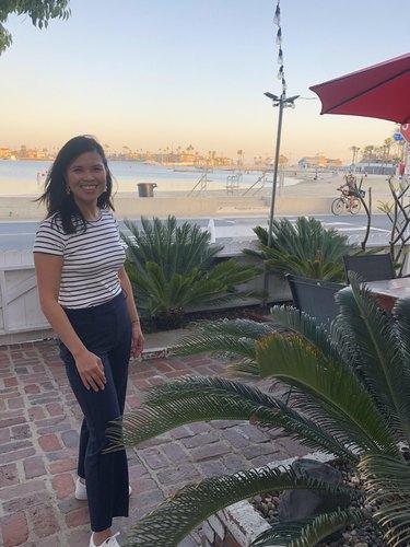 Anna Marie Cruz in an outdoor space