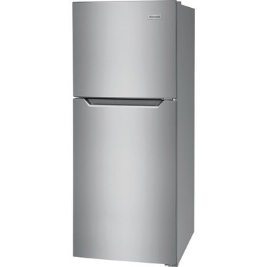 Frigidaire Refrigerator and Freezer Stainless Steel 10 cu.ftt