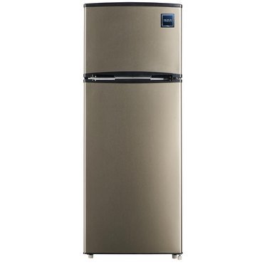 RCA 7.5 cu.ft. Refrigerator with Stainless Look