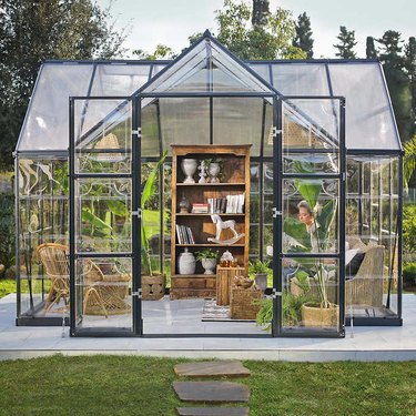 Victory Orangery 10'x12' Greenhouse and Solarium