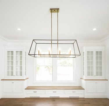minimalist hallway lighting hanging