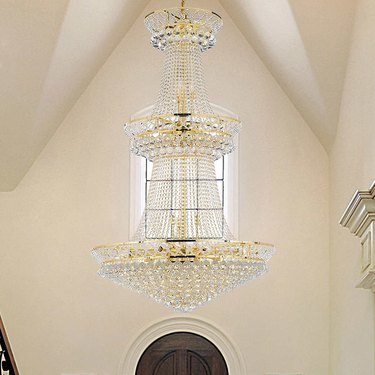 Lighting by Pecaso Charlotte Chandelier With Heirloom Grandcut Crystal