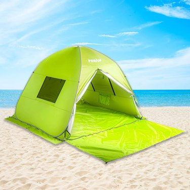 Poayhut Deluxe Size Instant Setup Beach Tent