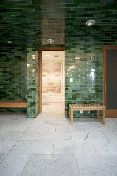 Minimalist hallway lighting recessed