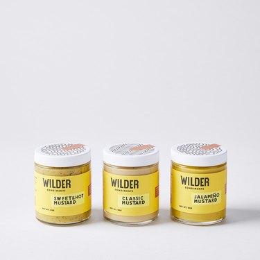 Wilder Condiments Small Batch Mustard Trio