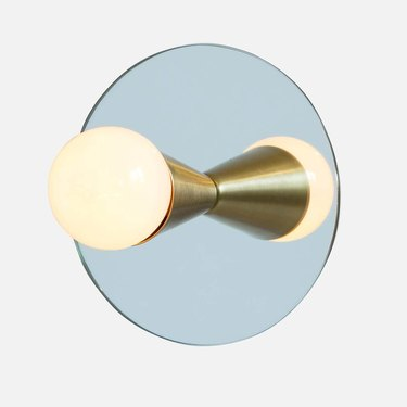 Echo One Sconce / Flush Mount in Brass from Souda, Made to Order