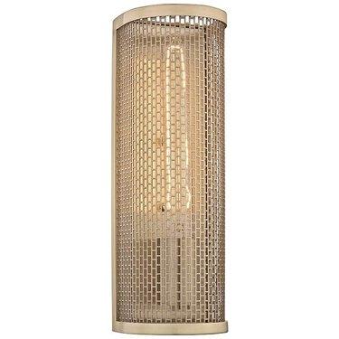 """lampsplus Mitzi Britt 13"""" High Aged Brass Wall Sconce"""