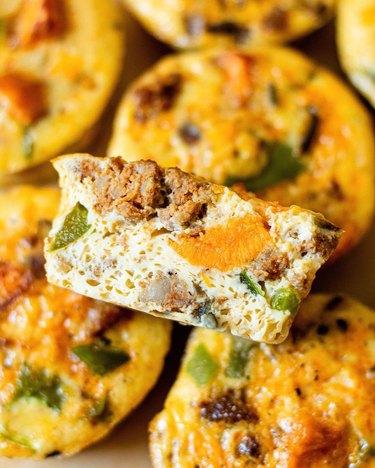 All The Healthy Things Sweet Potato Chorizo Egg Muffins