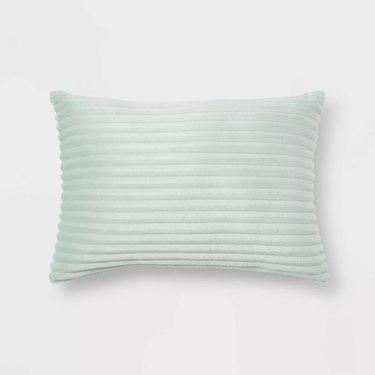 Room Essentials Oblong Cut Plush Decorative Throw Pillow