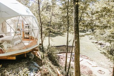 airbnb dome near natural space