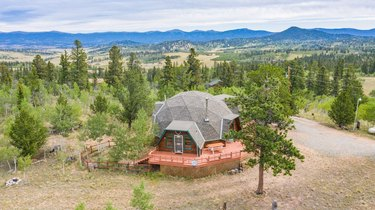 airbnb dome in nature