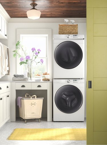 wayfair way day washer and dryer in laundry room