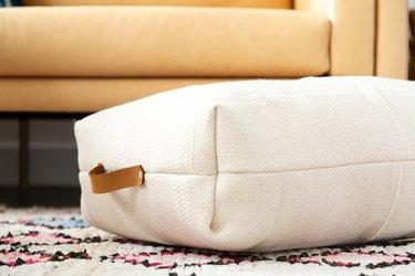 IKEA Hack floor pillow